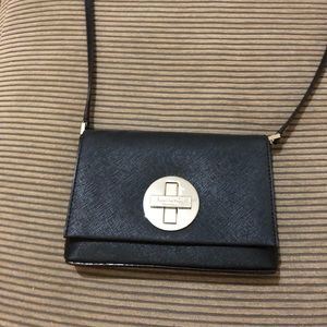 Kate spade mini black color crossbody bag
